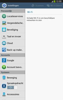 Samsung T315 Galaxy Tab 3 8-0 LTE - Resetten - Fabrieksinstellingen terugzetten - Stap 4