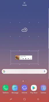 Samsung Galaxy Note9 - Operazioni iniziali - Installazione di widget e applicazioni nella schermata iniziale - Fase 6