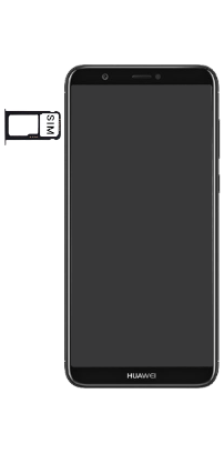 Huawei P Smart - Premiers pas - Insérer la carte SIM - Étape 5