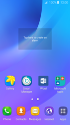 Samsung Samsung Galaxy J3 2016 - Getting started - Installing widgets and applications on your start screen - Step 6