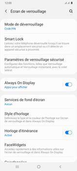 Samsung Galaxy A31 - Sécuriser votre mobile - Activer le code de verrouillage - Étape 13