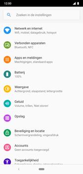 Nokia 8-1 - Beveiliging en privacy - zoek mijn mobiel activeren - Stap 4