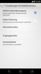 Sony Xperia M2 - Ausland - Im Ausland surfen – Datenroaming - 8 / 12