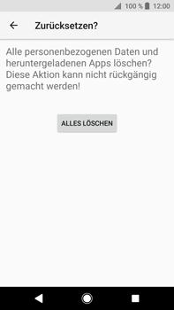 Sony Xperia XA2 Ultra - Fehlerbehebung - Handy zurücksetzen - 10 / 12