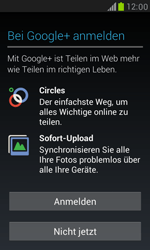Samsung I8190 Galaxy S3 Mini - Apps - Konto anlegen und einrichten - Schritt 9