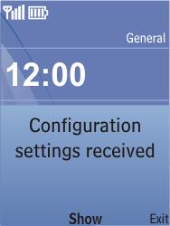 Nokia C2-05 - Internet - Automatic configuration - Step 3
