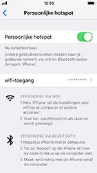 Apple iphone-se-met-ios-12-model-a1723 - WiFi - Mobiele hotspot instellen - Stap 8