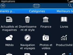 BlackBerry 9320 - Applications - Télécharger une application - Étape 6