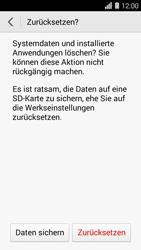 Huawei Ascend Y550 - Fehlerbehebung - Handy zurücksetzen - 9 / 10