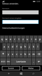 Nokia Lumia 735 - Apps - Konto anlegen und einrichten - 2 / 2