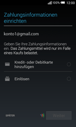 Alcatel OT-5050X Pop S3 - Apps - Konto anlegen und einrichten - Schritt 21