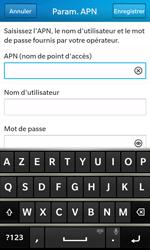 BlackBerry Z10 - Internet et roaming de données - Configuration manuelle - Étape 9