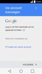 LG Leon (H320) - Applicaties - Account aanmaken - Stap 4