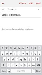 Samsung J500F Galaxy J5 - E-mail - Sending emails - Step 9