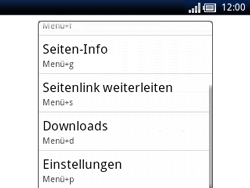 Sony Ericsson Xperia X10 Mini Pro - Internet - Manuelle Konfiguration - Schritt 19