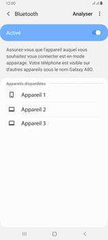 Samsung Galaxy A80 - Internet et connexion - Connexion avec un équipement multimédia via Bluetooth - Étape 8