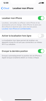 Apple iPhone XS - iOS 13 - Appareil - activéz