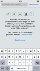 Apple iPhone 8 - iOS 12 - Internet und Datenroaming - Verwenden des Internets - Schritt 4