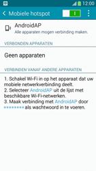Samsung I9195i Galaxy S4 mini VE - WiFi - Mobiele hotspot instellen - Stap 11
