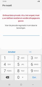 Samsung Galaxy S9 Plus - Android Pie - Beveiliging - stel in of wijzig pincode voor je toestel - Stap 9