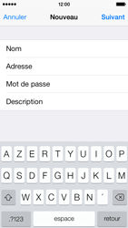 Apple iPhone 5c - E-mail - configuration manuelle - Étape 13
