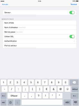 Apple iPad mini - iOS 8 - E-mail - configuration manuelle - Étape 18