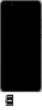 Huawei P40 Pro - Premiers pas - Insérer la carte SIM - Étape 3