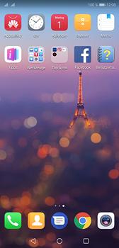 Huawei P20 - Startanleitung - Installieren von Widgets und Apps auf der Startseite - Schritt 3