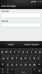 HTC One Mini - E-Mail - Manuelle Konfiguration - Schritt 19