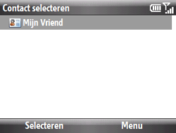 HTC S521 Snap - E-mail - E-mails verzenden - Stap 7
