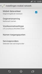 Sony E2003 Xperia E4G - netwerk en bereik - gebruik in binnen- en buitenland - stap 6