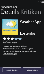 Nokia Lumia 610 - Apps - Herunterladen - Schritt 7