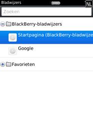 BlackBerry 9800 Torch - Internet - hoe te internetten - Stap 7