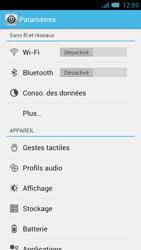 Bouygues Telecom Bs 471 - Internet et connexion - Utiliser le mode modem par USB - Étape 4