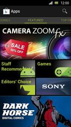 Sony Xperia U - Applications - Installing applications - Step 11