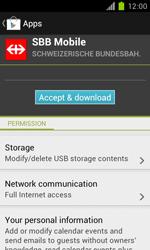 Samsung Galaxy S II - Applications - Installing applications - Step 22
