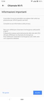 Sony Xperia 5 - WiFi - Attivare WiFi Calling - Fase 11