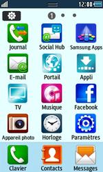 Samsung Wave 723 - Internet et connexion - Naviguer sur internet - Étape 3