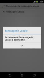 Sony D5503 Xperia Z1 Compact - Messagerie vocale - configuration manuelle - Étape 10