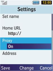 Samsung C3350 Xcover 2 - Internet - Manual configuration - Step 9