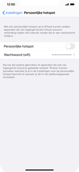 Apple iPhone XR - iOS 13 - Internet - mijn data verbinding delen - Stap 4