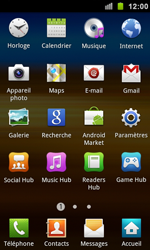 Samsung I9100 Galaxy S II - E-mail - envoyer un e-mail - Étape 2