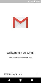 Sony Xperia XZ2 - E-Mail - Konto einrichten (gmail) - 5 / 18