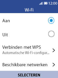 Nokia 8110 - WiFi - Verbinden met een netwerk - Stap 6