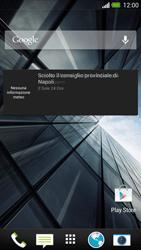 HTC One - Operazioni iniziali - Installazione di widget e applicazioni nella schermata iniziale - Fase 8