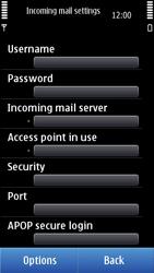 Nokia N8-00 - E-mail - Manual configuration - Step 19