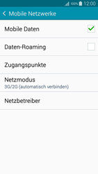 Samsung Galaxy A5 - Netzwerk - Netzwerkeinstellungen ändern - 2 / 2