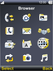 Sonim XP3300 Force - Internet - Internet browsing - Step 2