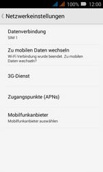 Huawei Y3 - MMS - Manuelle Konfiguration - 6 / 29