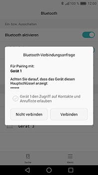 Huawei P9 Plus - Bluetooth - Geräte koppeln - 9 / 11